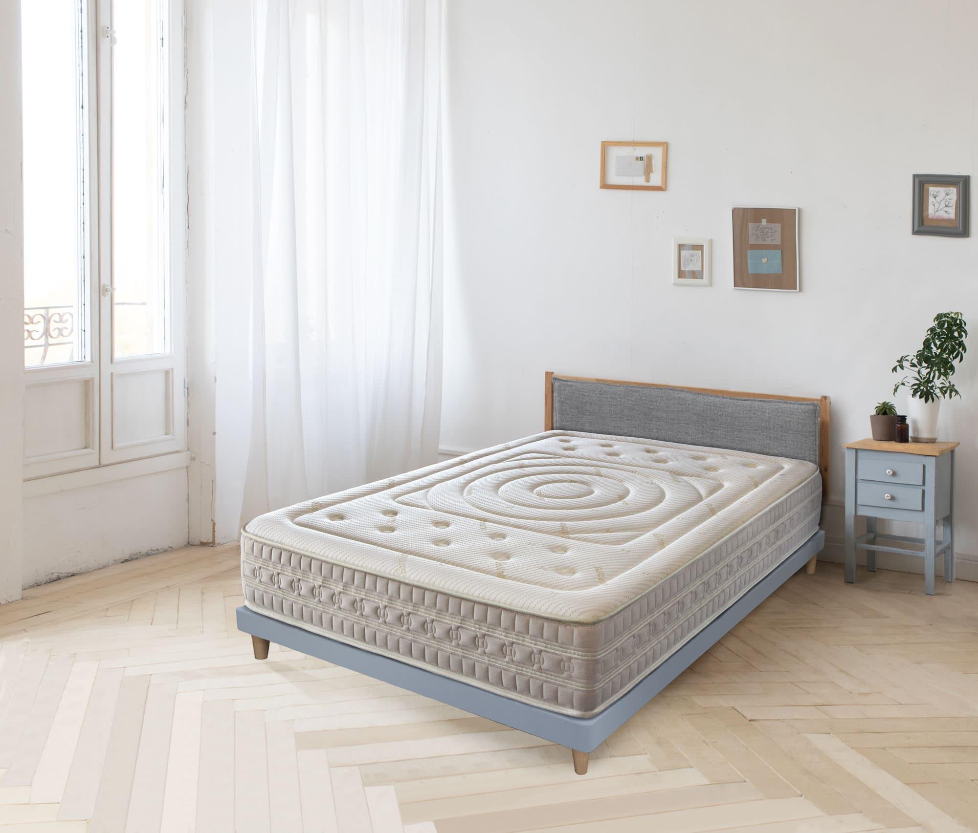 Colchón Muelles Ensacados y Viscoelástica Dream Cashmere (30cm)