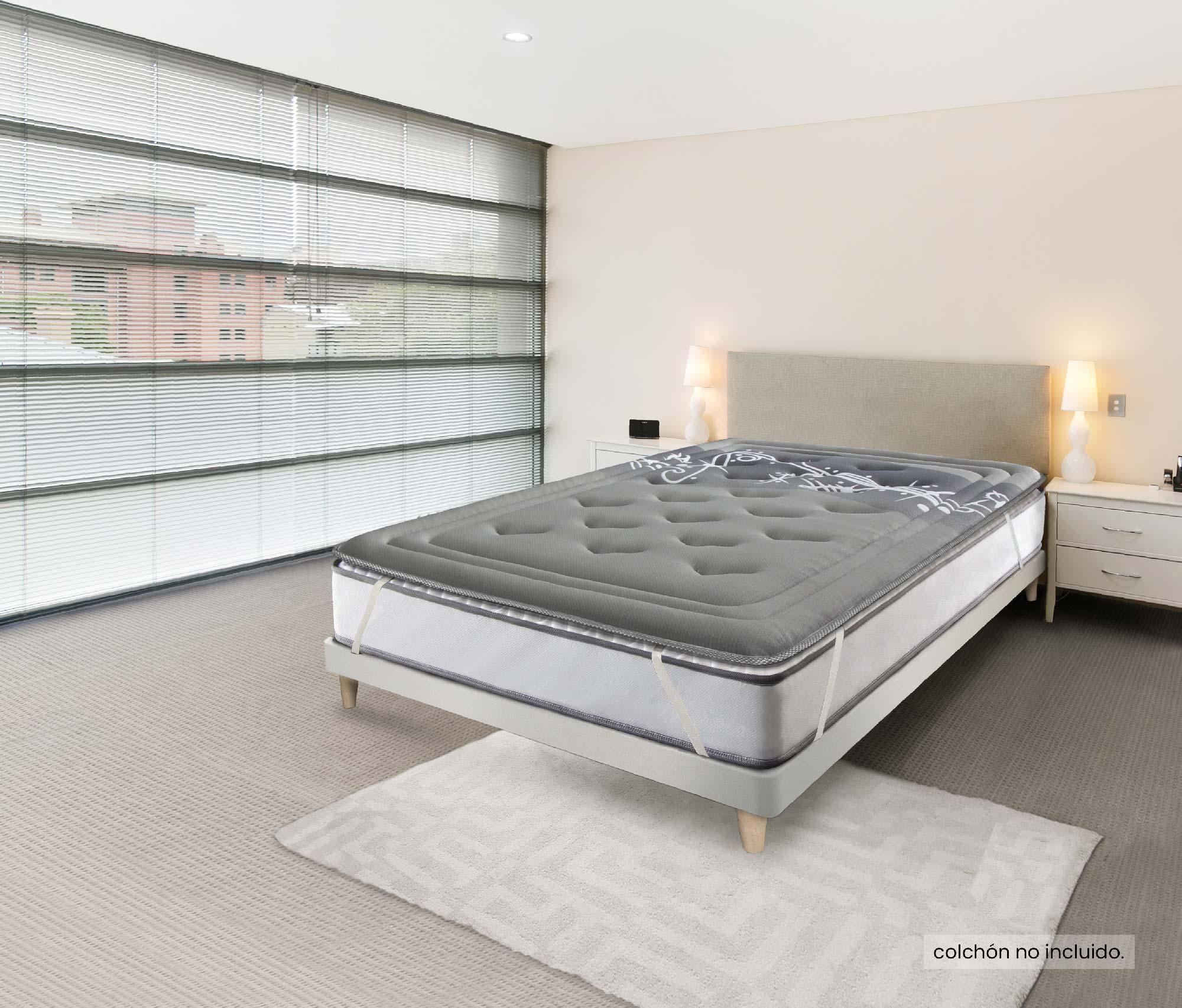Topper Nova Confort Viscografeno (4cm)