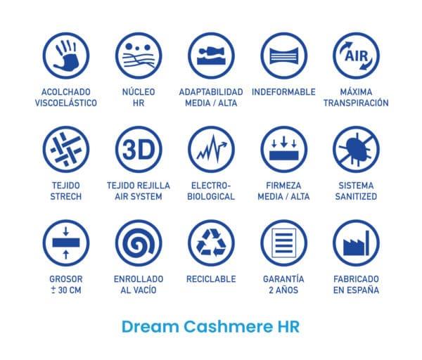 Colchón Dream Cashmere