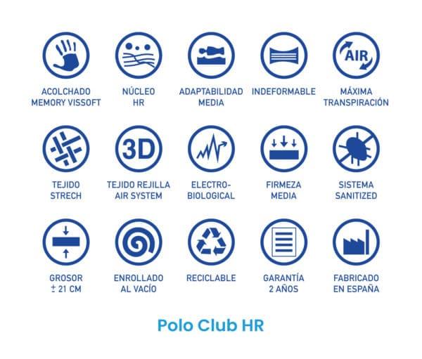 Colchón Polo club