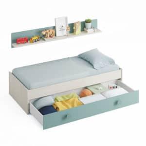 cama doble juvenil