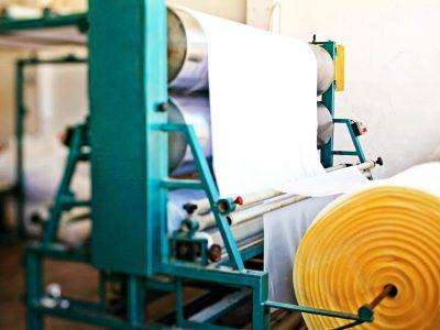Maquina para el tejido del colchones   Fabrica de colchones